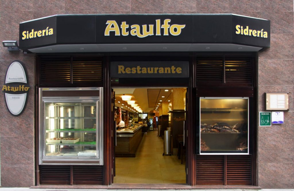 restaurante casa ataulfo gijon