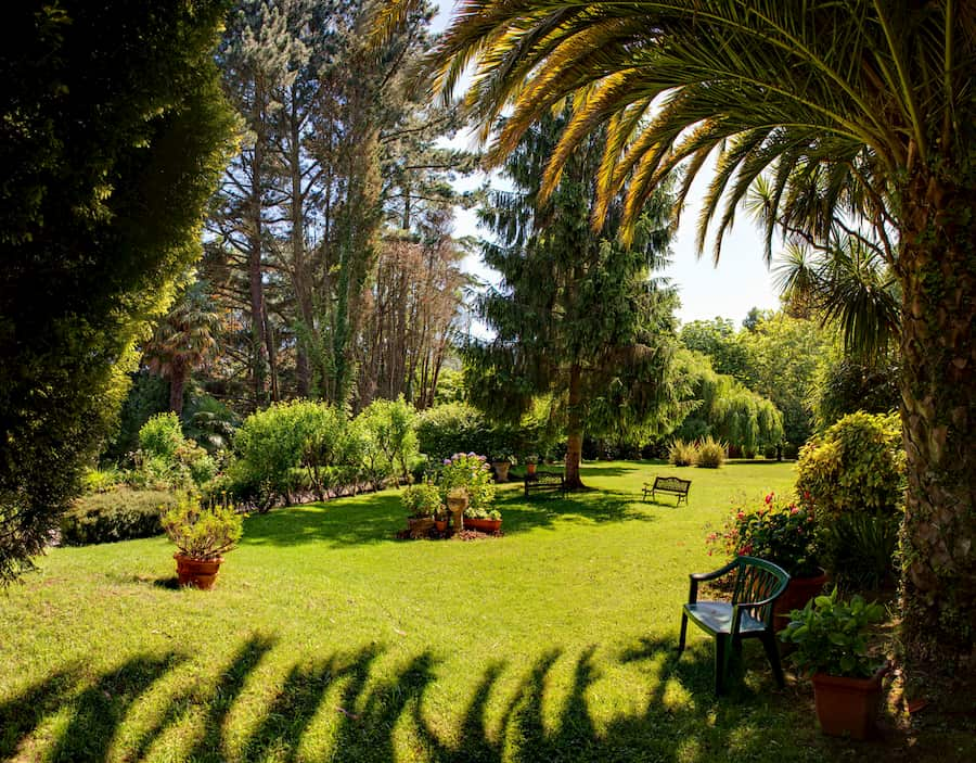 jardin de palacio de villabona